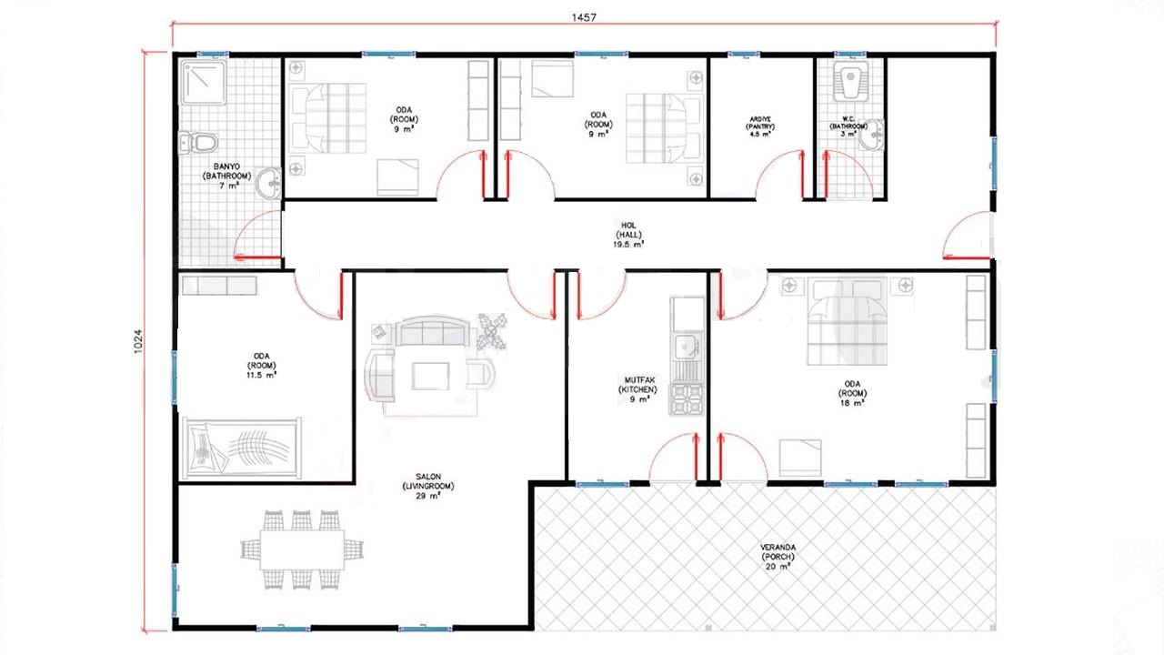 150-m2-tek-katli-prefabrik-ev