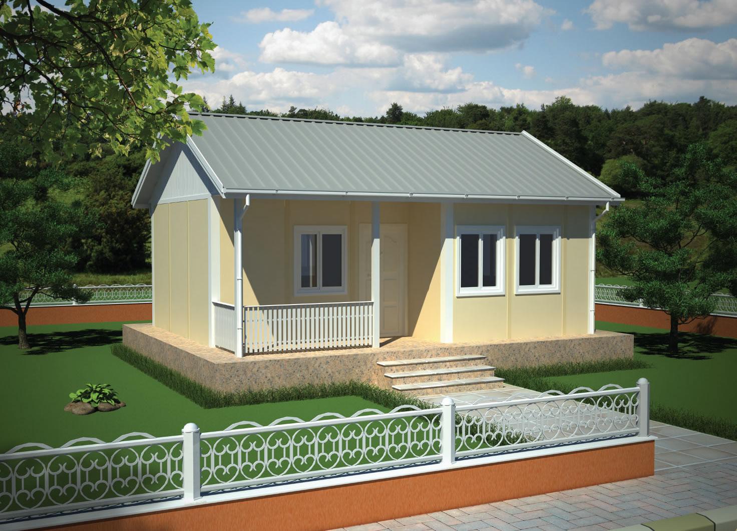 37 m2 Tek Katlı Ev